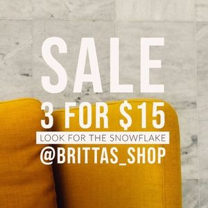 Other - Sale! 3 for $15